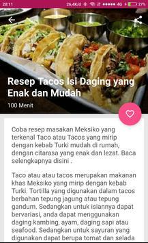 Resep Seafood Sederhana apk screenshot