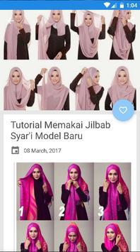 Tutorial Hijab Syar'i Modern apk screenshot