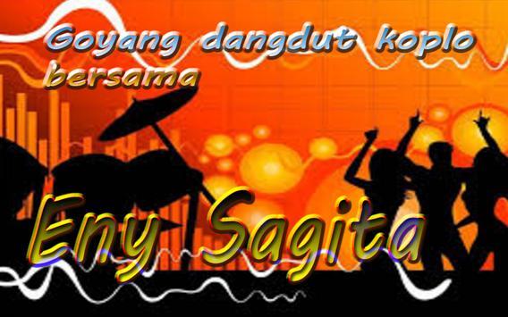 Top dangdut koplo Eny Sagita poster