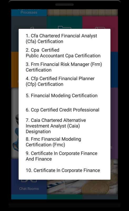 Corporate Finance For Android Apk Download