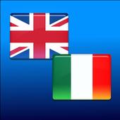Italian-English translator icon