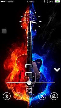 Guitar Keypad Lock Screen screenshot 5