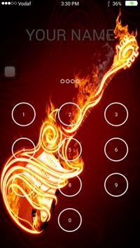 Guitar Keypad Lock Screen screenshot 6