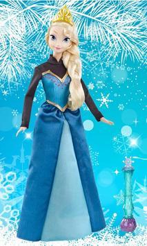 Wallpaper Frozen Elsa & Anna poster
