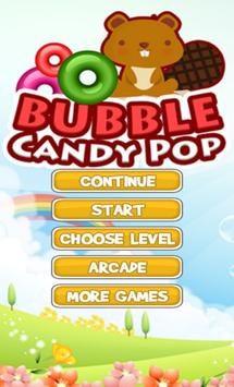 Bubble Candy Pop poster