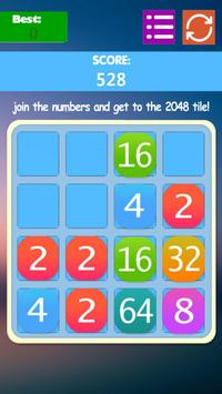 2048 Deluxe apk screenshot