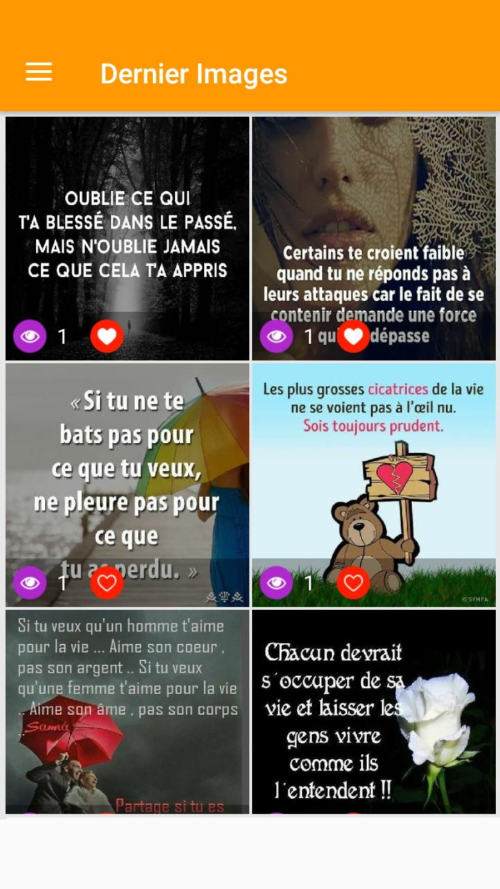 Mots Triste Coeur Brisé For Android Apk Download