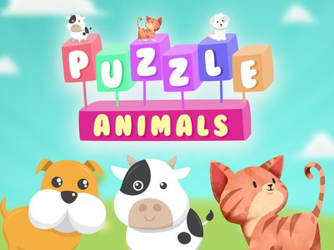 Puzzle for kids - Animals screenshot 6