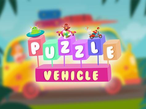 Car puzzle games for kids apk screenshot