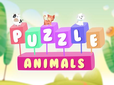 Funny Animals Puzzle Games for kids screenshot 5