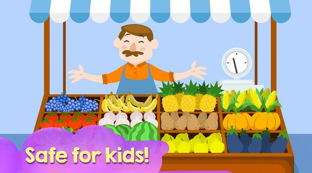 Funny Fruits - teach fruits easiest and funny way screenshot 1