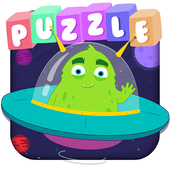 Cute Monsters! puzzle game for kids icon