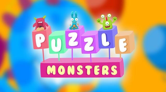 Cute Monsters! puzzle game for kids screenshot 2
