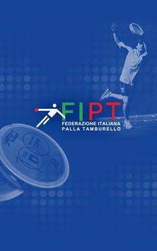 FIPT Tamburello poster