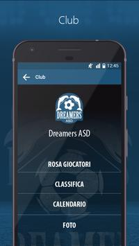 Dreamers Calcio screenshot 4