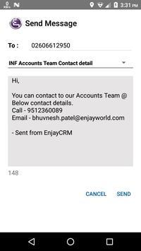 Enjay Latitude SuiteCRM Mobile apk screenshot