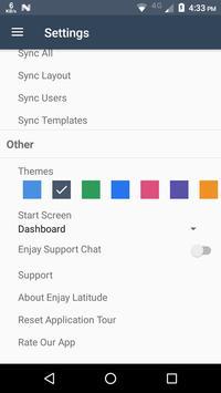Enjay Latitude Mobile CRM apk screenshot