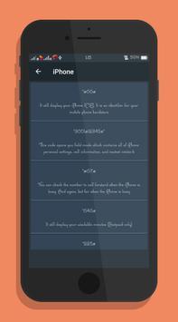 Mobile Secret Codes screenshot 2