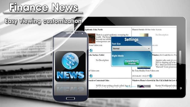 Finance News apk screenshot