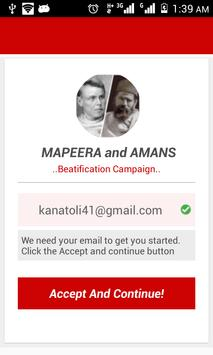 Mapeera and Amans. poster