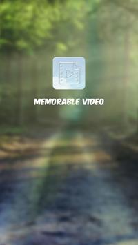 Memorable Video apk screenshot