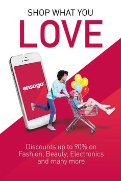 Ensogo – Shop what you love poster