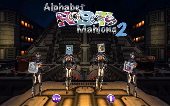 Alphabet Robots Mahjong Free 2 apk screenshot