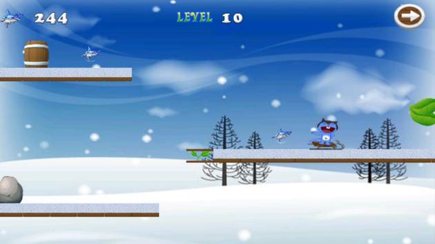 Adventure Of Moggy Frozen apk screenshot