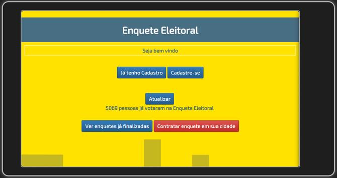 Enquete Eleitoral apk screenshot