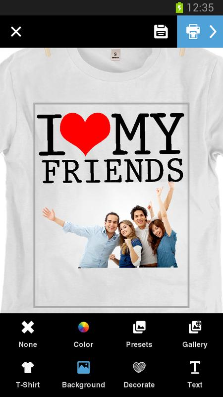 c8567b925 ... Diseña e imprime tu camiseta captura de pantalla 3 ...