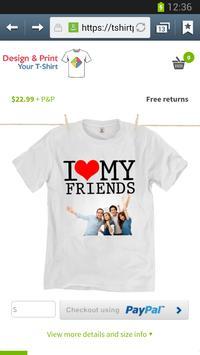 ... Diseña e imprime tu camiseta captura de pantalla 4 ... 6faa1348a2bef