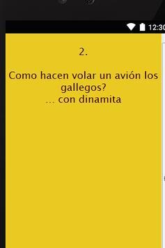 Chistes de Gallegos screenshot 1