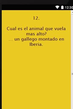 Chistes de Gallegos apk screenshot