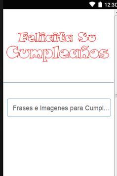 Frases e Imagenes Cumpleaños poster