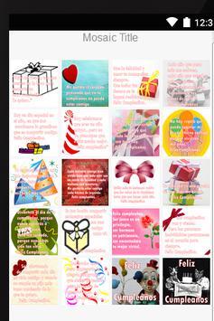 Frases e Imagenes Cumpleaños screenshot 1
