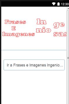 Frases e Imagenes Ingeniosas poster