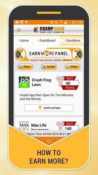 Champcash Earn Money Free screenshot 1