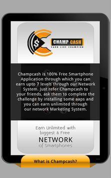 Champcash Earn Money Free screenshot 5