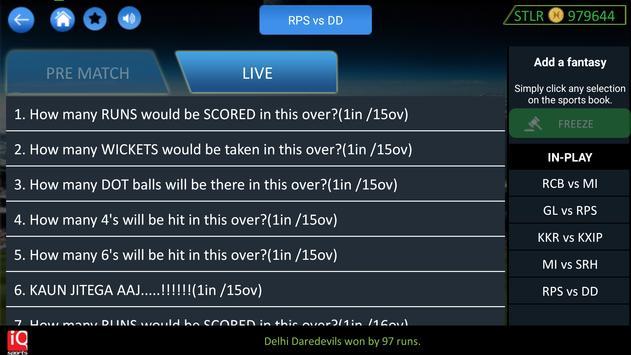 Sports IQ Fantasy apk screenshot