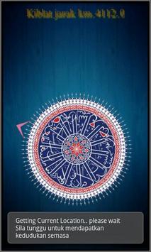 Kiblat kompas poster