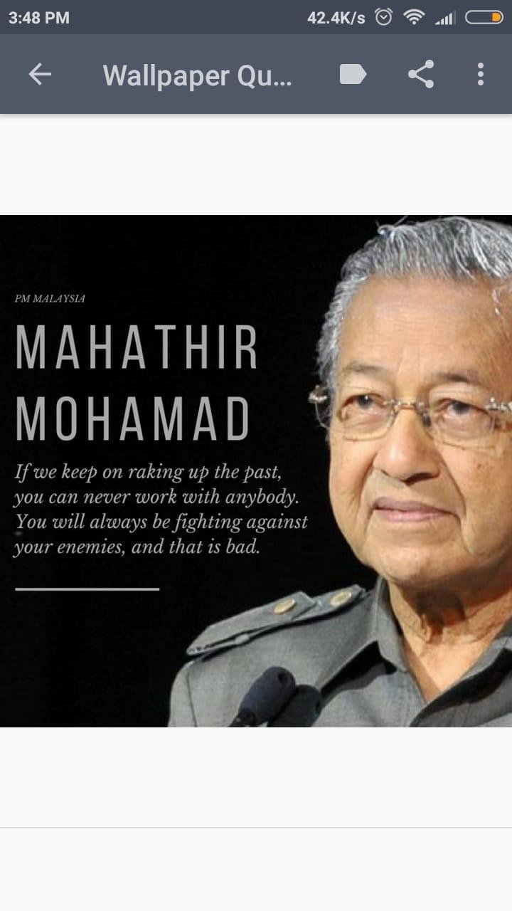 Mahathir Mohamad Wallpaper Quotes Hd For Android Apk Download