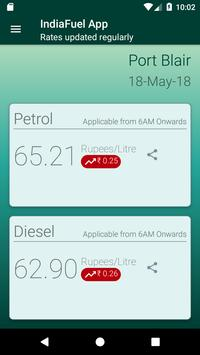 India Fuel:Petrol Diesel price daily updated-live poster