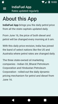 India Fuel:Petrol Diesel price daily updated-live screenshot 4