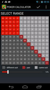 Free Poker Calculator apk screenshot