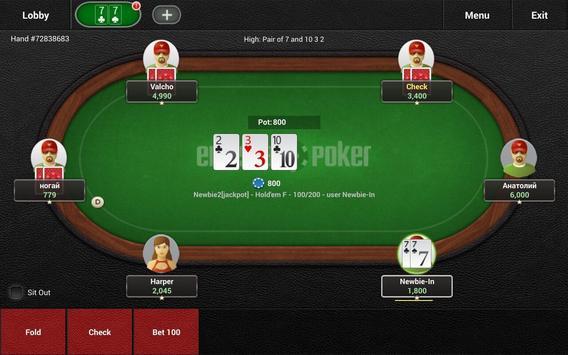 Enterra Poker Pro screenshot 10