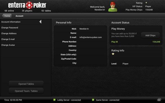 Enterra Poker Pro screenshot 12