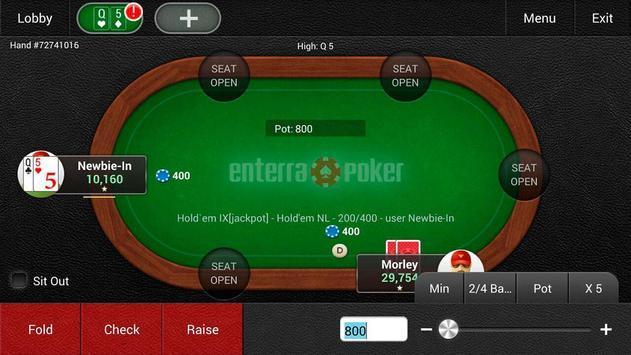 Enterra Poker Pro screenshot 4