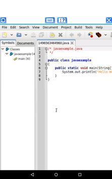 AndroxIDE for Java, Php & Perl apk screenshot