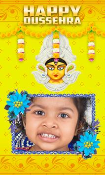 Vijayadashami photo frames poster