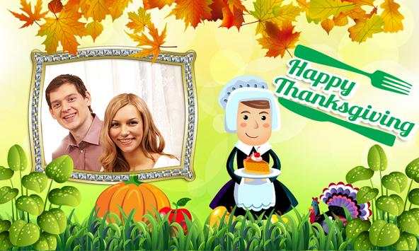 Happy ThanksGiving photo frame poster